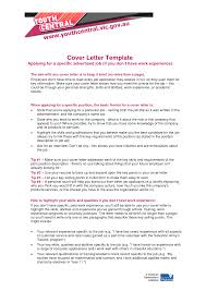 Cover Letter Examples Retail No Experience
