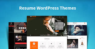 Cv Website Resume Wordpress Themes For Online Cv Personal Profile