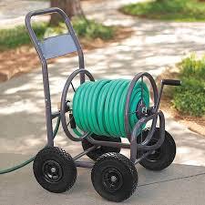 garden hose reel cart 6 in steel