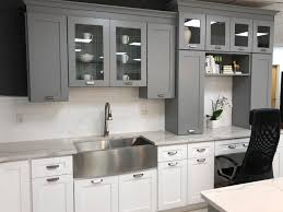 Space Grey Shaker Kitchen Cabinets