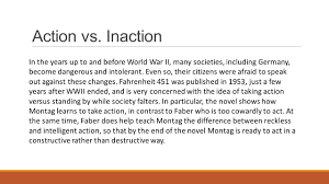 fahrenheit theme essay fahrenheit themes censorship books are banned in the society action vs inaction in the years up