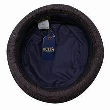 ruben hat denim pork pie men fall and winter rouben hat size 62cm simple cal denim