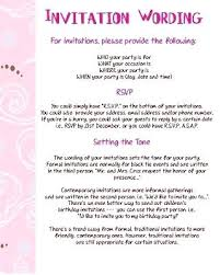 How To Create A Party Invitation What Does Rsvp Mean On Birthday Invitations How To Respond To