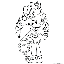 Shopkins Coloring Pages To Color Online Pictures To Color Packed
