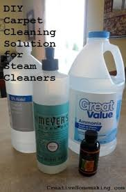steam cleaner solution