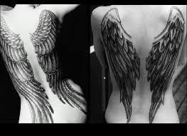 Andělská Křídla Tetování Angel Tattoo Galerie Tetováníblogcz