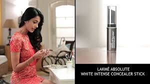 party makeup with lakmé absolute white intense concealer