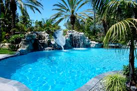 Pool Designs With Waterfalls And Slides Exercise Pool Designs With
