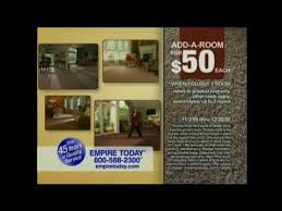 empire today add a room event carpet mercial 30 secs