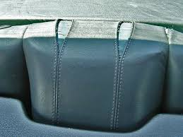 black leather heats easier in the sun a shrunken bmw e30 rear seat cover this leather must be replaced