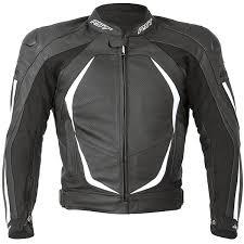 rst las blade 2 leather jacket white