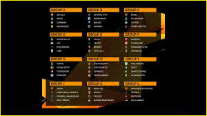UEFA Europa League 2019/20 draw: Man ...