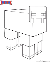 Small Picture minecraft sheep Coloring pages Printable