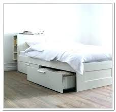 twin platform bed frame. White Platform Bed With Storage Twin Frame