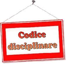 Risultati immagini per codice disciplinare gif
