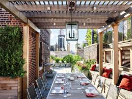 outdoor lighting ideas for your porch patio or terrace photos architectural digest
