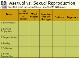 Asexual Vs Sexual Reproduction Studyslide Com