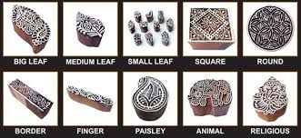 designs of wooden printing blocks