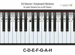 Hallo, gibt es eine internetseite wo man klavier ode. Klavier Aufkleber Gunstig Kaufen Ebay