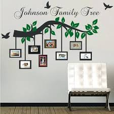 wall photo frames design picture frame branch wall decal trendy designs pertaining to family frames for