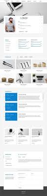 Resume Html Template Gorgeous CVitae Responsive Materialized Resume Resume Cv Portfolio