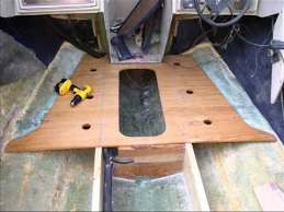 boat floor replacement you