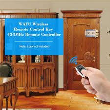 WAFU <b>Wireless Remote</b> Control Key 433MHz <b>Remote Controller</b> for ...