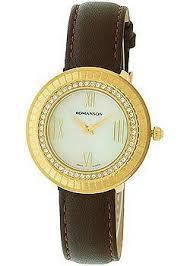 <b>Romanson Часы RL0385TLG WH Коллекция</b> Lady Jewelry ...