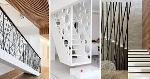Here are 11 examples of creative safety railings on stairs that show how  railings don'