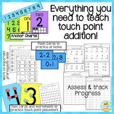 Touch Math Addition Packet