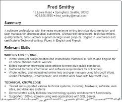Technical Skills In Resume Wonderful 921 Examples Of Technical Skills For Resume Listing Skills On Resume