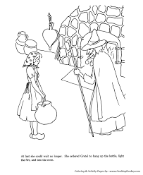 Small Picture Wicked Witch Coloring Pages