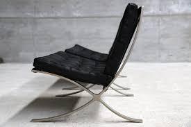 ludwig mies van der rohe barcelona. Vintage Barcelona Chairs By Ludwig Mies Van Der Rohe For Knoll Chair 1929 Set O