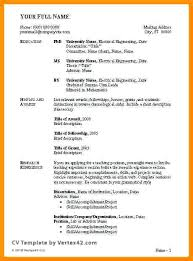 Professional Curriculum Vitae Template Extraordinary Cv Outline Template For Students Clntfrdco