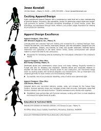 Fashion Resume Examples - Resume Template Ideas