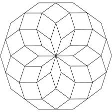 Mandala Disegno Da Colorare Gratis 22 Facile Semplice Geometrico