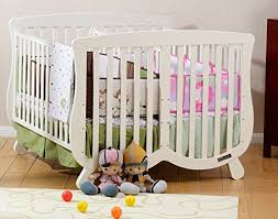 Amazon Com Twin Baby Cribs For Twins With Regard To Nursery Furniture Plans  8