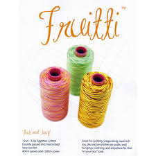 Wonderfil Thread Charts Wonderfil Frutti Thread Colour Chart
