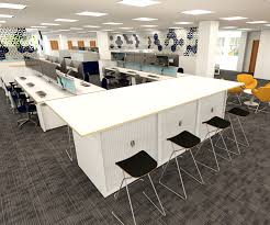 office space planners. Desking Space Planning Render Office Planners
