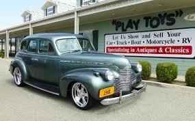 1940 Chevrolet Master Deluxe 4 Door Sedan