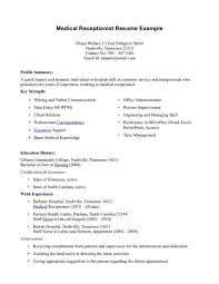 Free Medical Assistant Resume Template Custom Free Resume Templates Medical Assistant New Examples Of Resumes