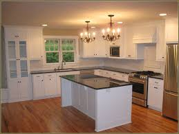 Contractor Grade Kitchen Cabinets Before Stained Wood Cabinets Look Outdated Craftpro Contracting