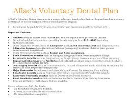 25 aflac s voluntary dental