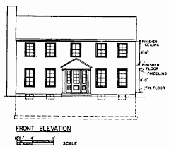 modern house plan southern colonial style house plans federal style house modern modern
