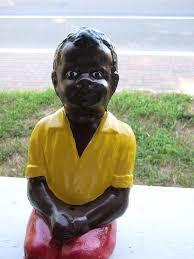 image result for black boys fishing concrete statuesblack