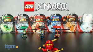 LEGO Ninjago Zane, Nya, Jay, Cole, Kai, and Lloyd Spinjitzu Masters from  LEGO - YouTube