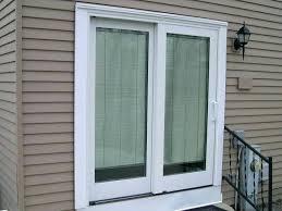 sliding doors with built in blinds french patio internal glass door