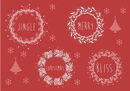 christmas vector art christmas background illustration