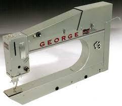I've been keeping secrets   Maria Elkins & George sewing machine Adamdwight.com