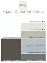 benjamin moore popular gray white paint colors kitchen cabinets most